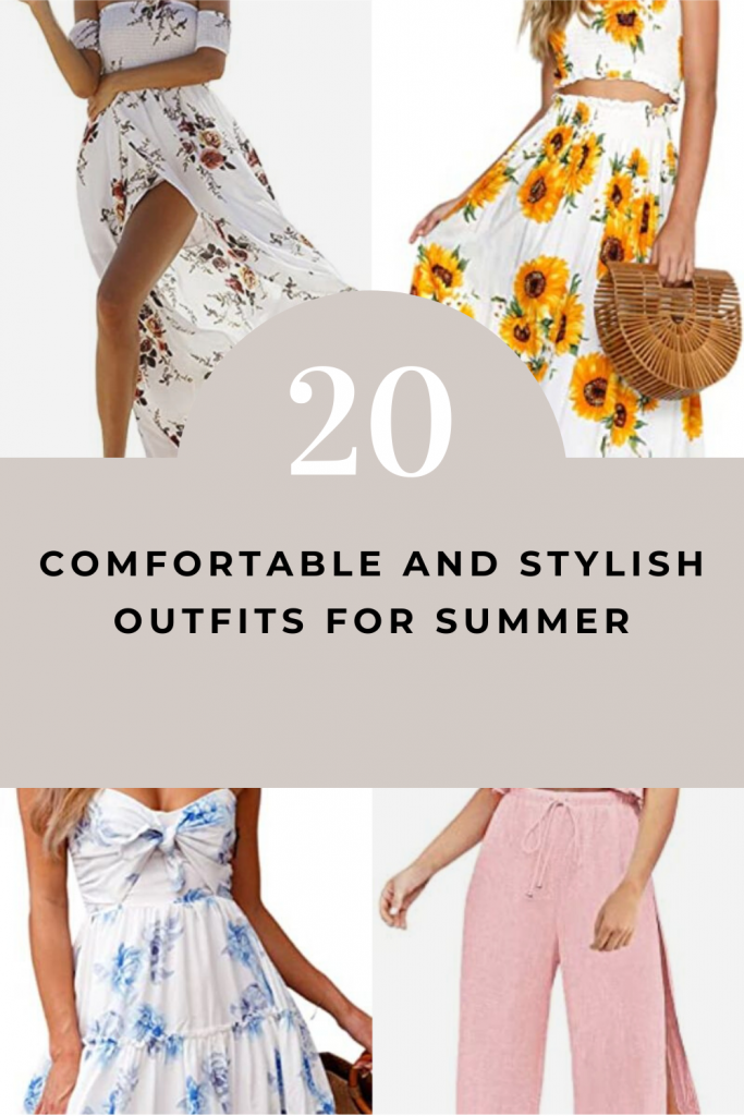 20 Stylish And Comfortable Outfits For Summer